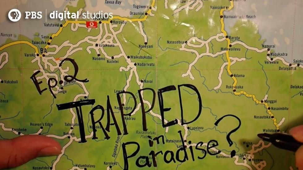 Trapped In Paradise image