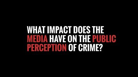 How The Media Portrays Crime - Timeline Clip