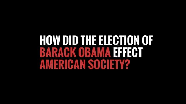 The Election of Barack Obama - Timeline Clip