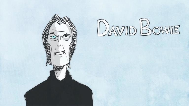 Blank on Blank: David Bowie on Stardust