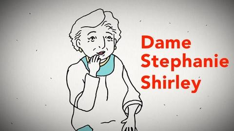 Blank on Blank -- Dame Stephanie Shirley on Survival Code
