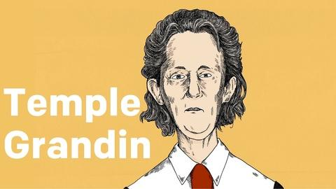 Blank on Blank -- Temple Grandin On Her Search Engine