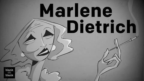 Blank on Blank -- Marlene Dietrich on Sex Symbols