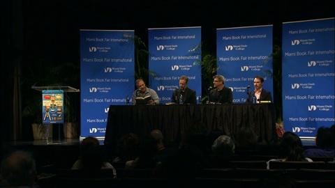 Book View Now -- Garth Stein, Ron Rash, & Peter Heller Panel- Miami Book Fair