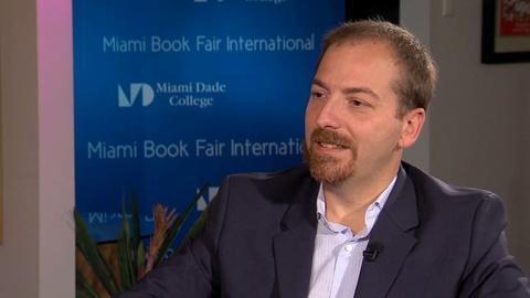 Book View Now -- Chuck Todd Interview at Miami Book Fair