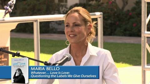 Book View Now -- Maria Bello - 2015 Los Angeles Times Festival of Books