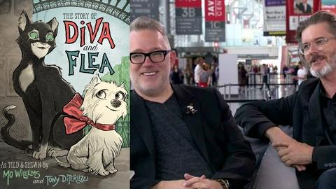 Book View Now -- Tony DiTerlizzi and Mo Willems Interview at BookCon 2015
