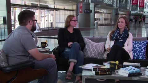 Book View Now -- Austin Kleon, Jessica Hagy, and Elle Luna at BookCon 2015