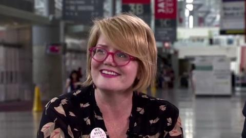 Book View Now -- David Levithan Interviews Libba Bray at BookCon 2015