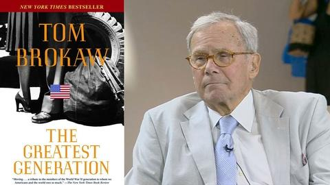 Book View Now -- Tom Brokaw Interview at 2015 National Book Festival