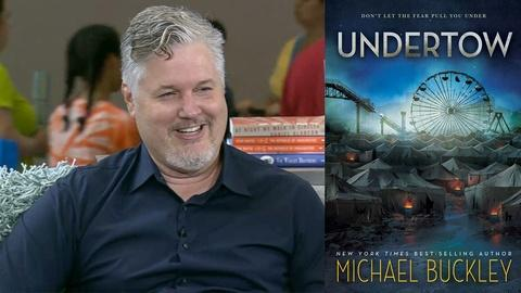 Book View Now -- Michael Buckley Interview at 2015 National Book Festival