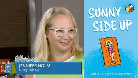Book View Now -- Jennifer Holm Interview at 2015 National Book Festival