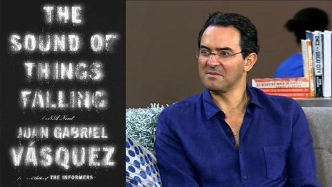 Book View Now -- Juan Gabriel Vásquez Interview at '15 National Book Festival