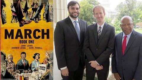 Book View Now -- Congressman John Lewis & Andrew Aydin Interview - MBFI15