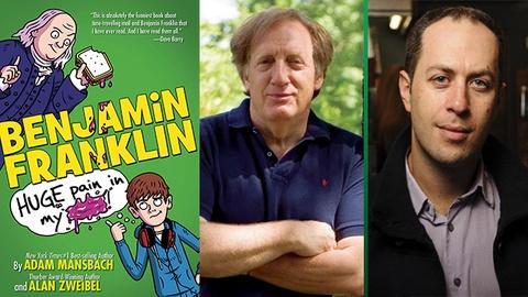 Book View Now -- Adam Mansbach & Alan Zweibel Interview - Miami Book Fair