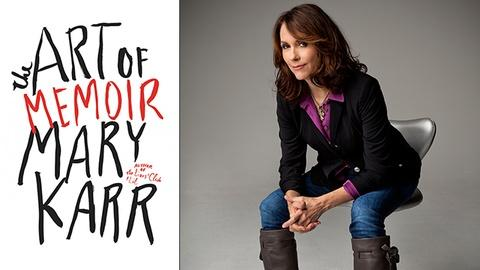 Book View Now -- Mary Karr Interview - 2015 Miami Book Fair