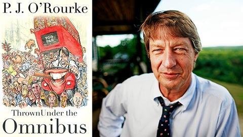 Book View Now -- P.J. O'Rourke Interview - 2015 Miami Book Fair