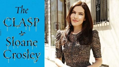 Book View Now -- Sloane Crosley Interview - 2015 Miami Book Fair