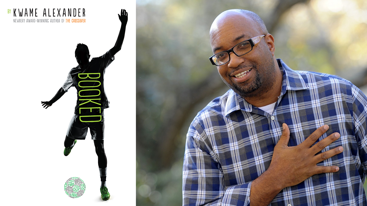 Kwame Alexander 2016 L A Times Festival Of Books Book