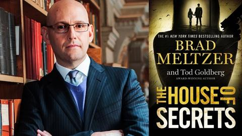 Book View Now -- Brad Meltzer at 2016 Miami Book Fair