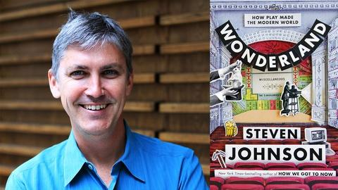 Book View Now -- Steven Johnson at 2016 Miami Book Fair