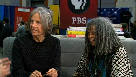 Book View Now -- Sonia Sanchez and Eileen Myles - 2017 AWP Book Fair