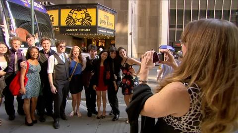 Broadway or Bust -- New York Moments