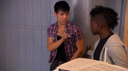 Broadway or Bust -- Coaching Moment: Telly Leung and Brittany Dankwa