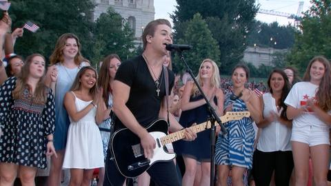 A Capitol Fourth -- S2015: Hunter Hayes Performs Live at A Capitol Fourth