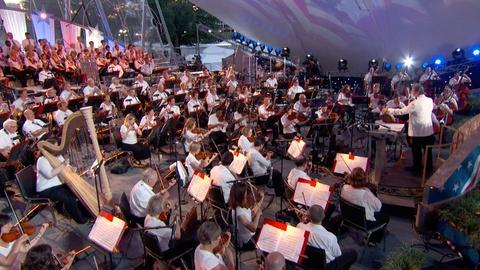 A Capitol Fourth -- S2015: The National Symphony Orchestra Tributes George M. Co