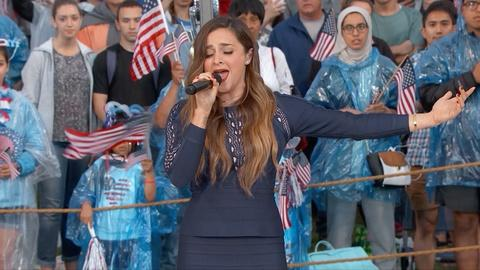 A Capitol Fourth -- S2016: Alisan Porter sings the National Anthem