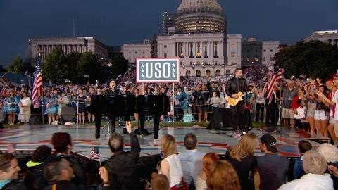 """A Capitol Fourth -- S2016: Gavin DeGraw Performs """"Soldier"""""""