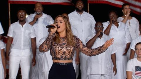 """A Capitol Fourth -- S2016: Cassadee Pope Performs """"I Am Invincible"""""""