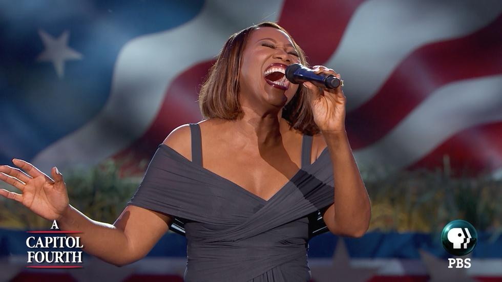 "Yolanda Adams Sings ""My Country, 'Tis of Thee"" image"