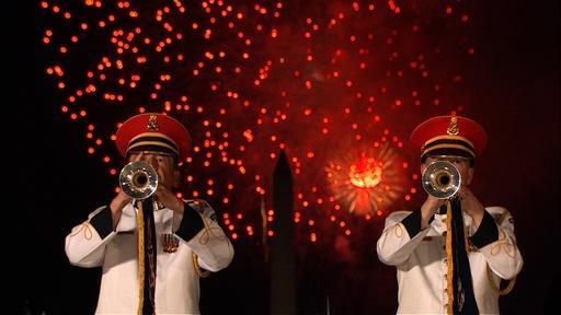 Patriotic Music & Fireworks!