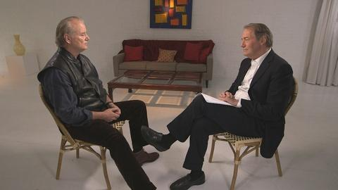 Charlie Rose The Week -- Bill Murray and Charlie Rose