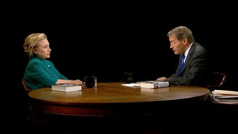 Charlie Rose The Week -- Hillary Clinton on the Situation in Gaza