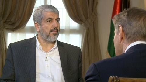 Charlie Rose The Week -- Khaled Meshaal on Coexistence with Israel