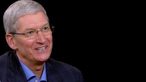 Charlie Rose The Week -- Tim Cook on Apple TV