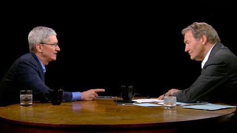 Charlie Rose The Week -- Tim Cook on Steve Jobs