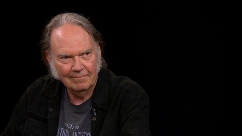 Charlie Rose The Week -- Neil Young on Woodstock