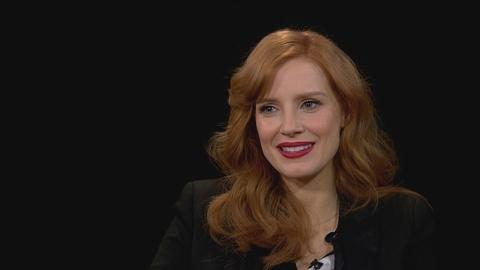 Charlie Rose The Week -- Jessica Chastain on Women in Hollywood