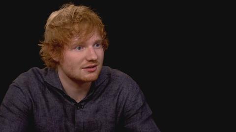 Charlie Rose The Week -- Ed Sheeran on Songwriting