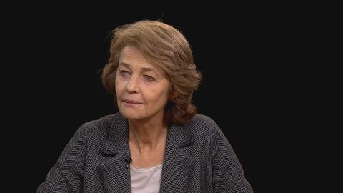 "Charlie Rose The Week -- Charlotte Rampling and Andrew Haigh on ""45 Years"""
