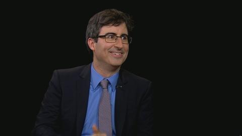 Charlie Rose The Week -- John Oliver Discusses The Daily Show