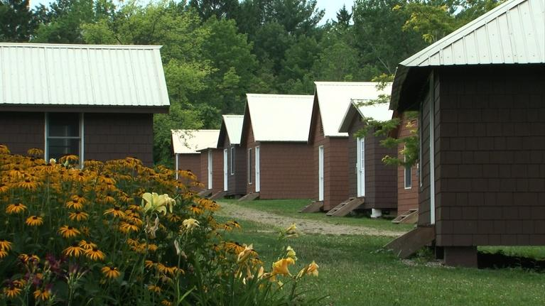 Chautauqua - An American Narrative: Practice Shacks: A Chautauqua Tradition