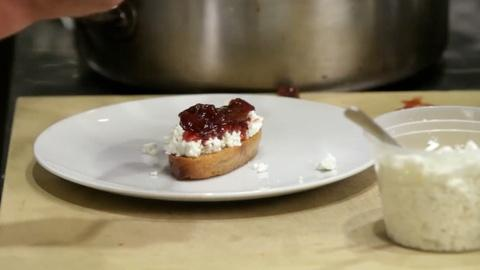 A Chef's Life -- S1 Ep7: Mulled Muscadine on Crostini with Goat Cheese