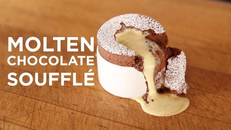 ChefSteps: Molten Chocolate Soufflé
