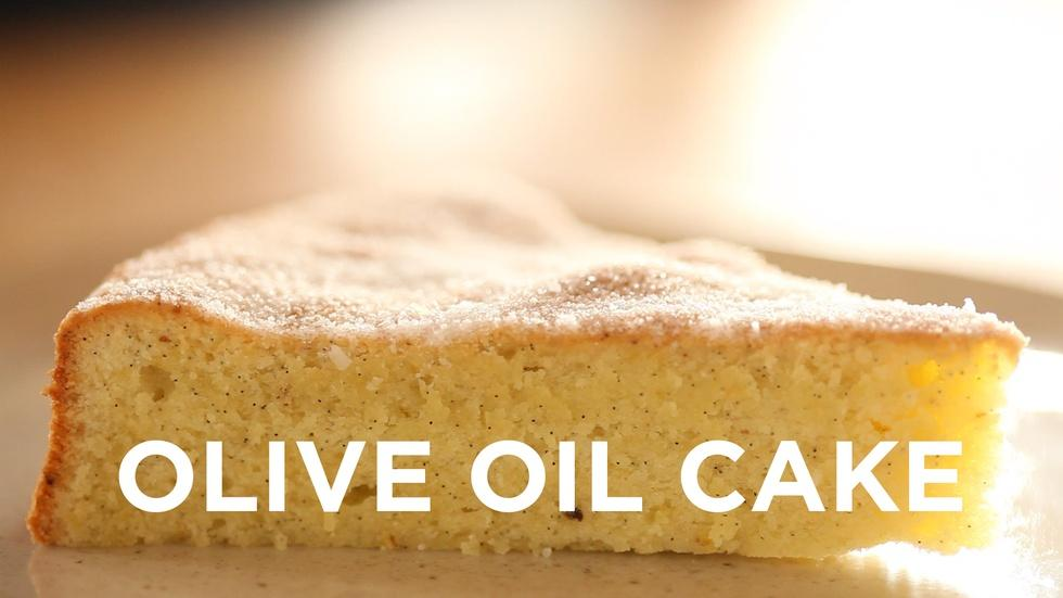Olive Oil Cake image