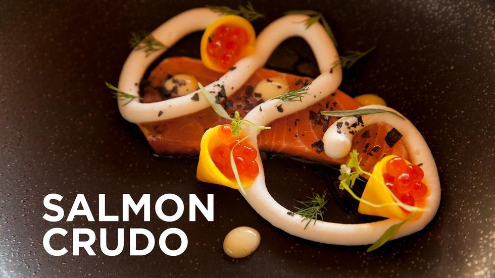 Salmon Crudo image